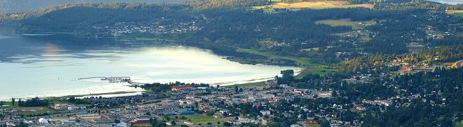 Salmon Arm, Shuswap Lake