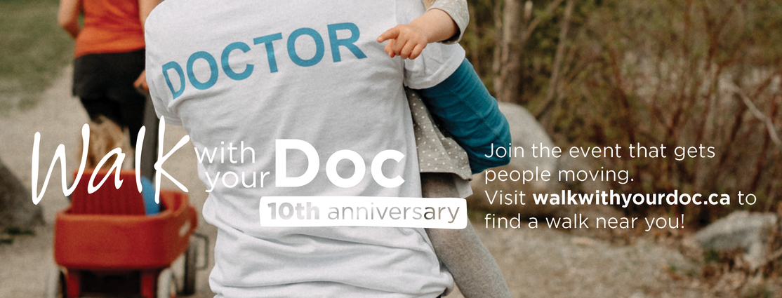 Walk With Your Doc 10th anniversary