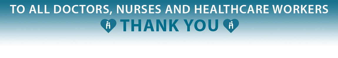 Thank you to all healthcare workers